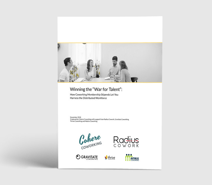Coworking White Paper - Cover