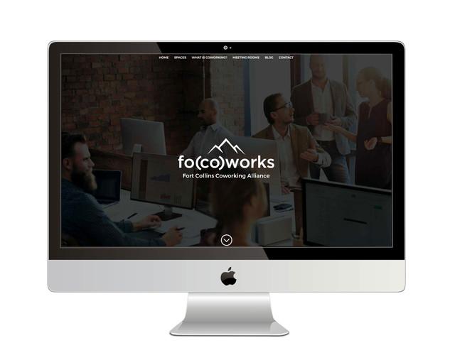 Focoworks Homepage Design
