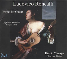 Ludovico Roncalli: Works for Guitar cd cover art