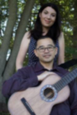 Duo Beltenstrum: Hideki Yamaya and Sara Henry