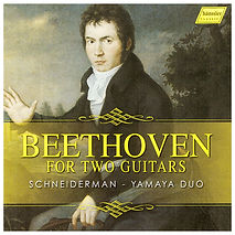 Beethoven for two Guitars cd cover art