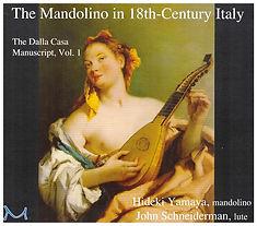 The Mandolino in 18th-Century Italy cd cover art