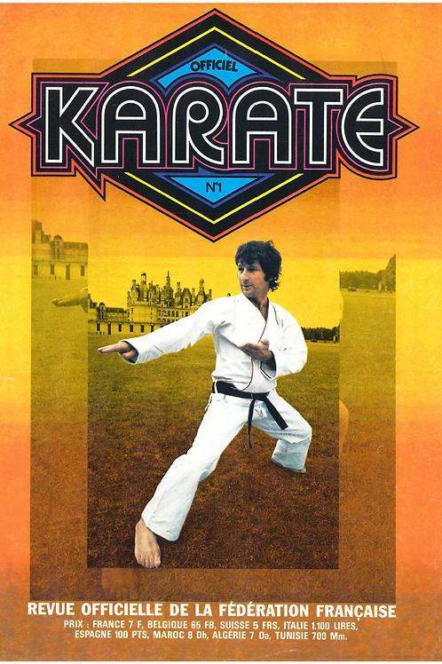 Karate officiel #1 - 1976
