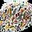 Thumbnail: Casquette MTM Gavroche Océan Réversible