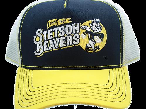 Stetson Trucker Cap Football Beaver