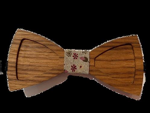 Noeud Papillon Bois Chêne 1
