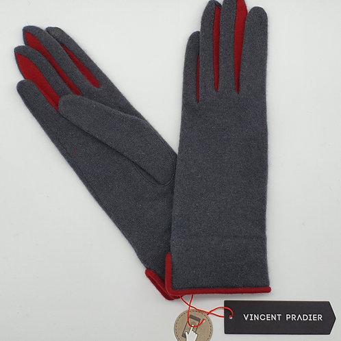 Gants Pradier Entre-doigts Couleur Tactiles