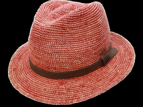 Auréga Mattéo Raphia Crochet Rouge