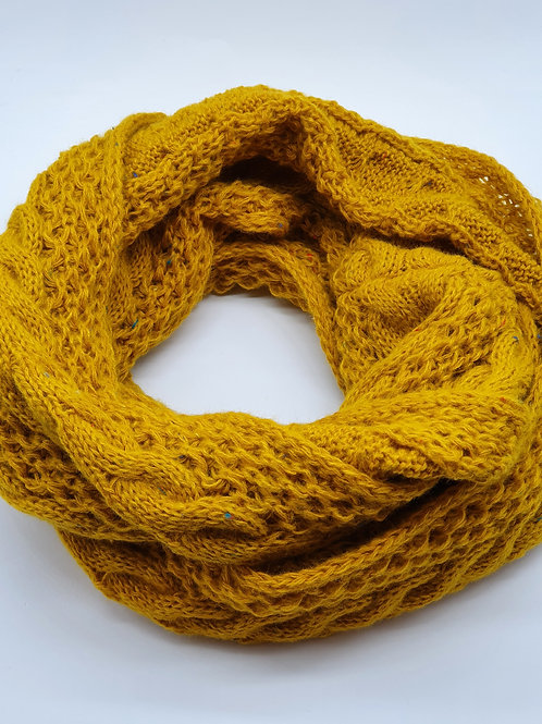 Snood Herman Louise 124 Moutarde