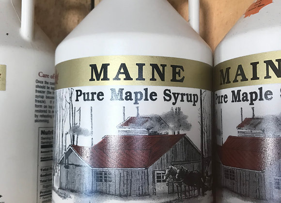 1/2 Gallon, 64oz, 100% Maple Syrup