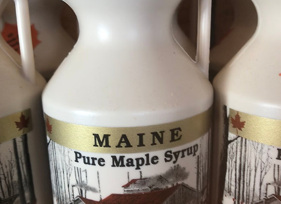 1/2 Pint, 8oz, 100% Maple Syrup