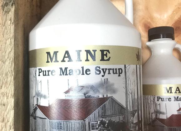 Gallon, 128oz, 100% Maple Syrup