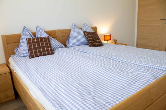 Schlafzimmer Appartement Hofblick