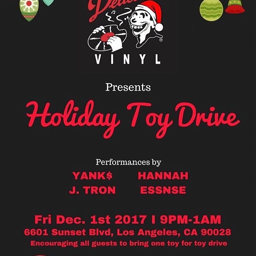 Delicious Vinyl: Holiday Toy Drive