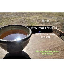 第6話 和の音 - blog essay - 美味しい梅醤番茶の作り方 手当て編