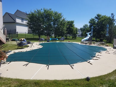 Safety Swimming Pool Cover Virginia Maryland DC