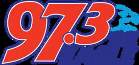 RADIO STATION - 973 THE EAGLE - LOGO - O