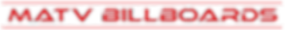 MATV - LOGOS - MATV BILLBOARDS (HORIZONT