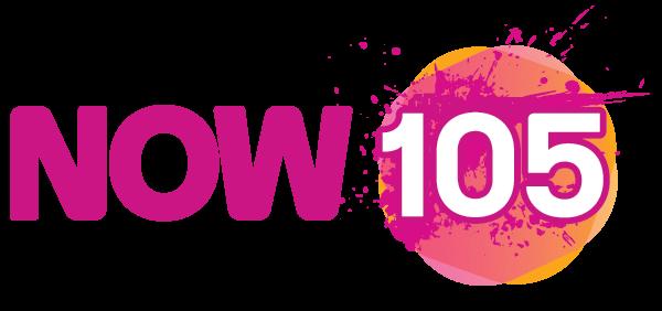 RADIO STATION - NOW 105 - LOGO - OFFICIA