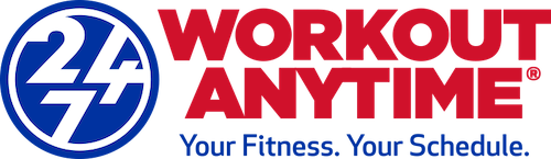 WORKOUT ANYTIME 24-7 FITNESS - LOGO - OF