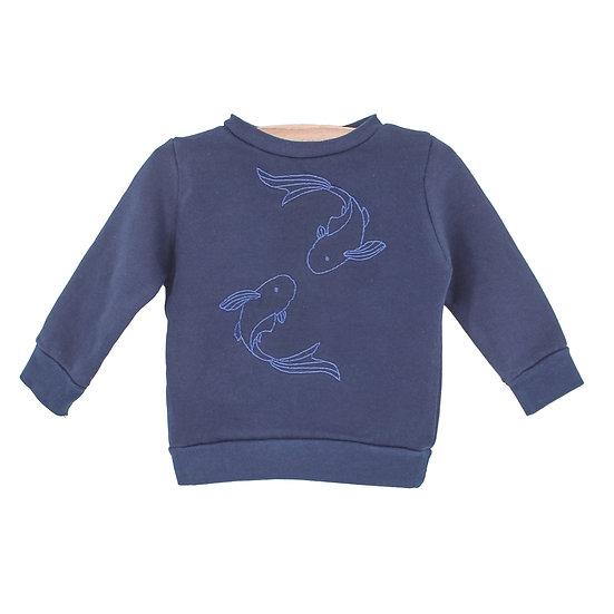 Mini sweater Vissen