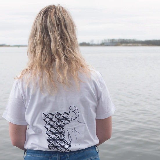 T-shirt Maagd