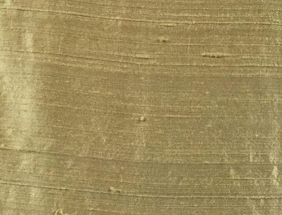 Yellow Gold Silk Dupioni