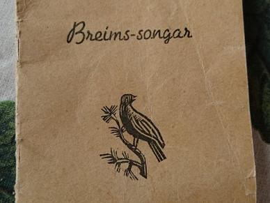 LITTERÆR PÅMINNING #1 - BREIMS-SONGAR 1953