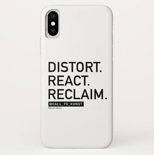 Distort React Reclaim IPhone X Case