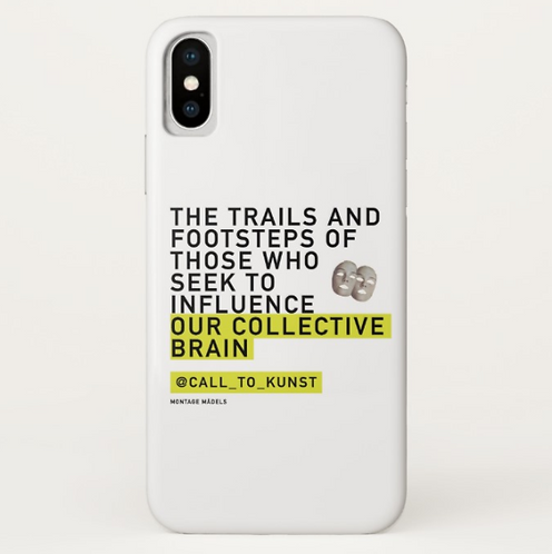 Collective Brain IPhone X Case