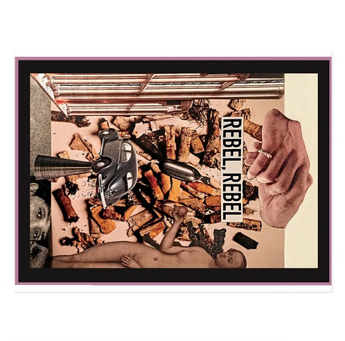 Rebel, Rebel Postcard