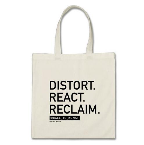 Distort React Reclaim Tote