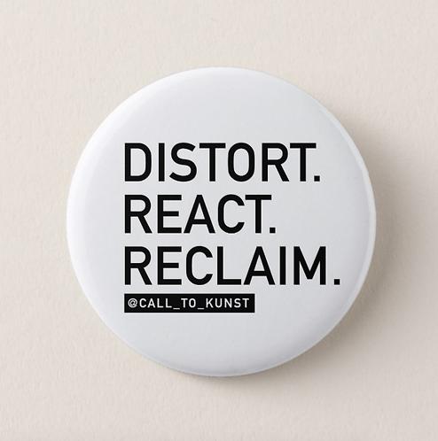 Distort React Reclaim Button