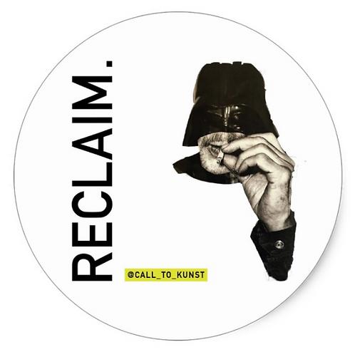 Reclaim Round Stickers (Set of 6)