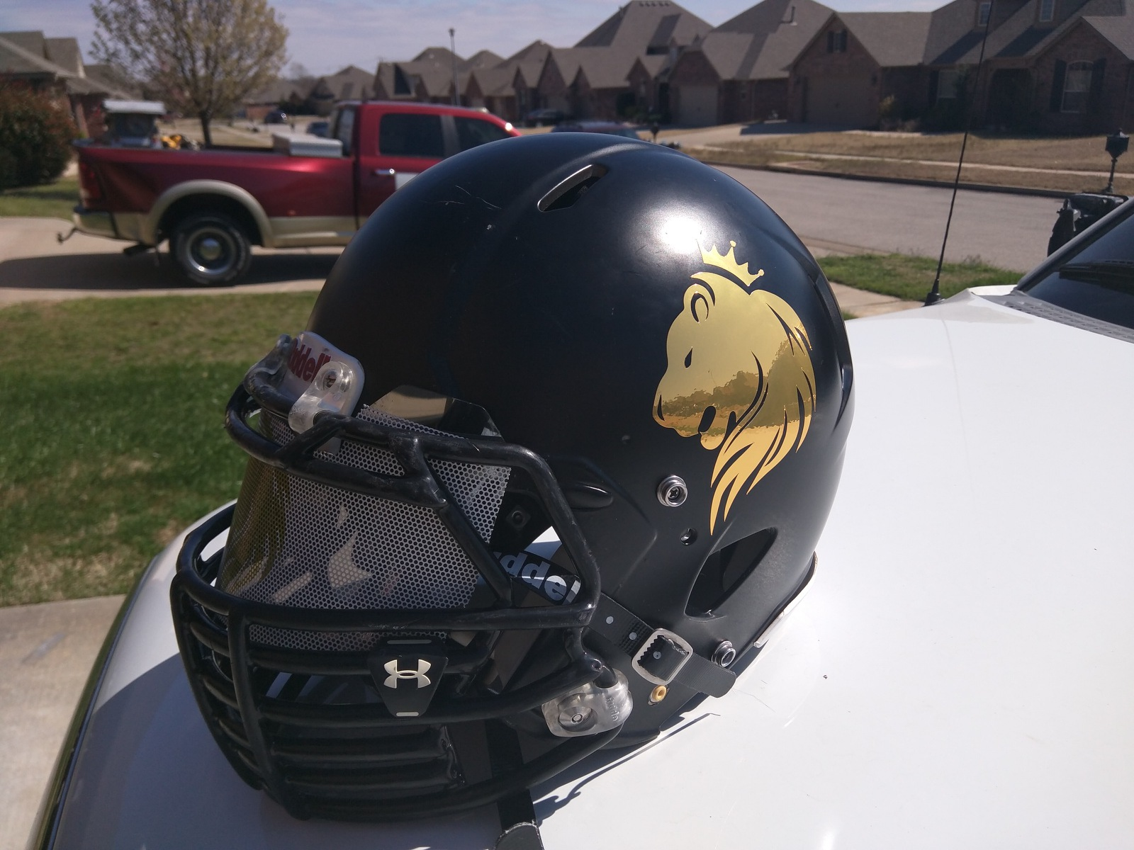Helmet Custom Vinyl Decal