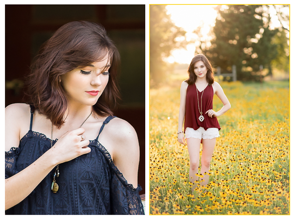 senior model photography