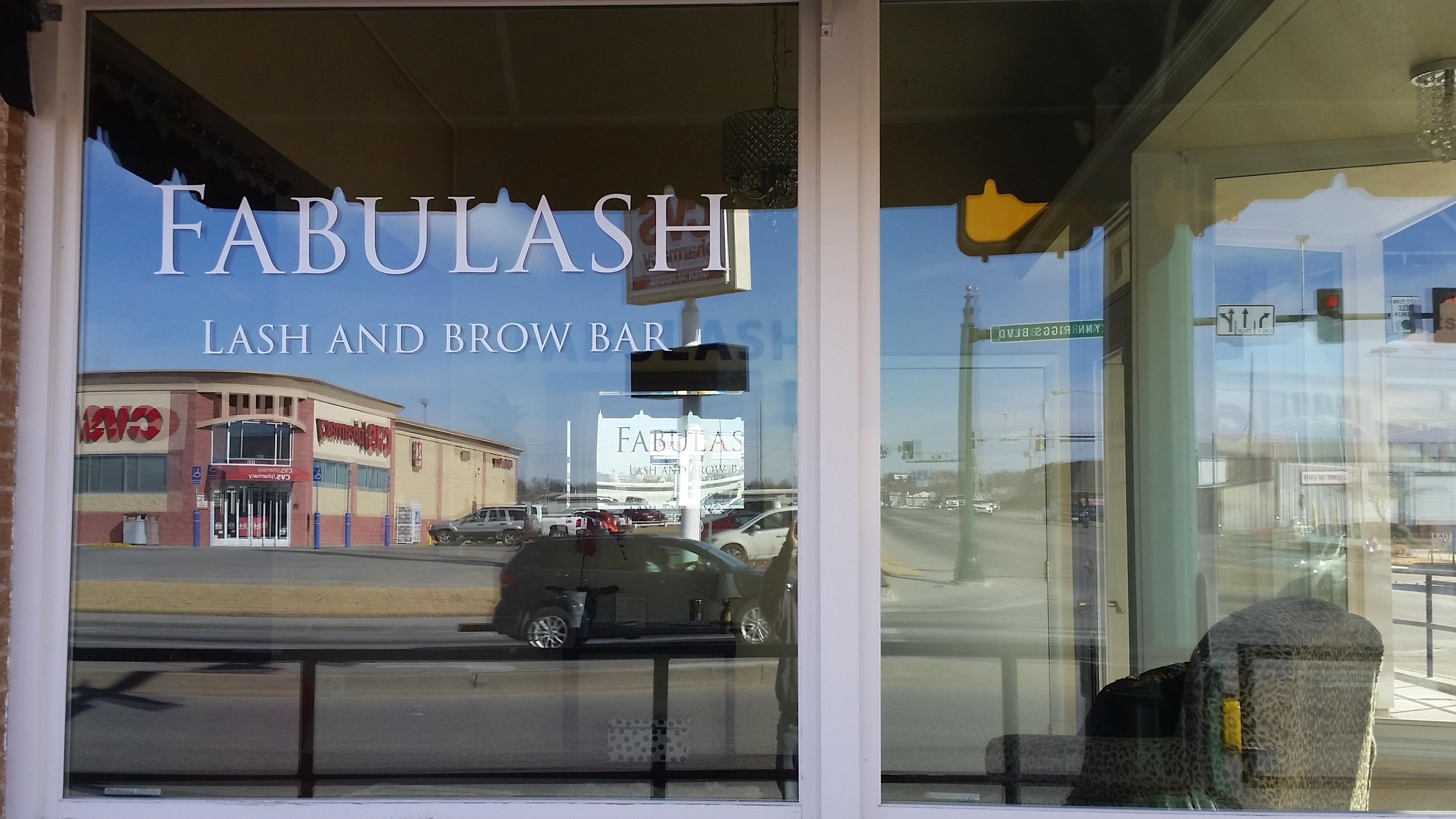 Fabulash - Storefront Window Vinyl