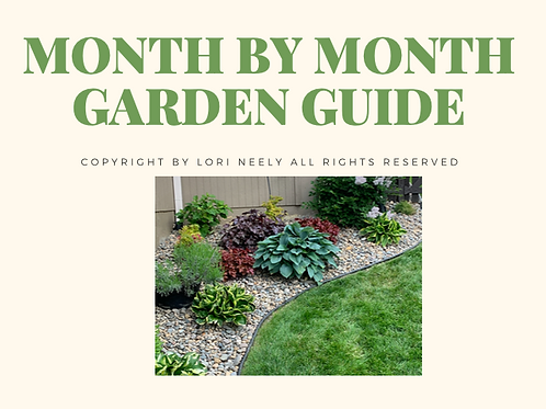 Month by Month Garden Guide