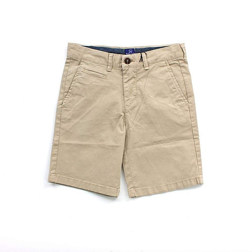 Tan Kai Twill Shorts Sizes 2T - 7Y