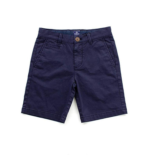 Navy Kai Twill Shorts Size 2T - 7Y