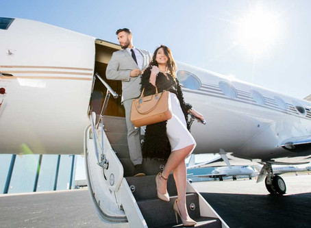 Flying in Luxury and Comfort