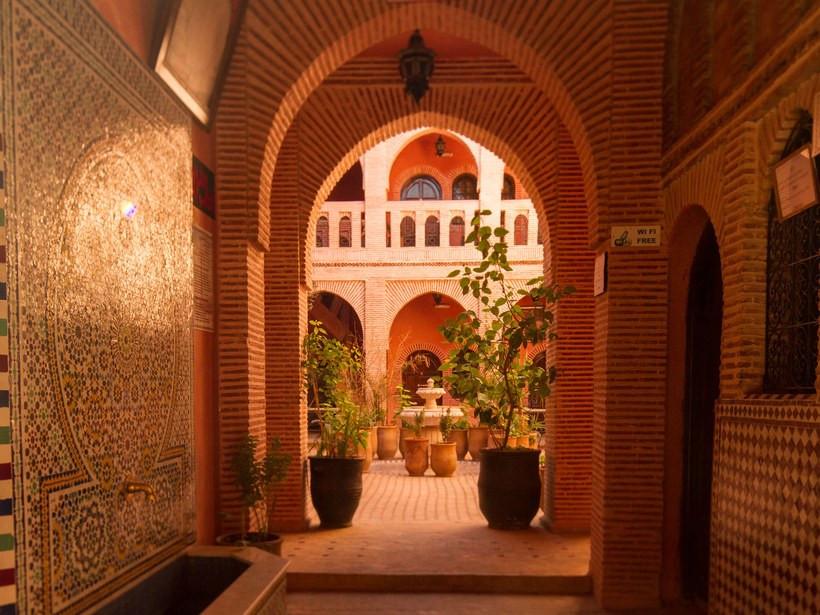 Marrakech courtyard