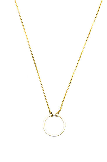 CLASSIC ETERNITY NECKLACE - GOLD