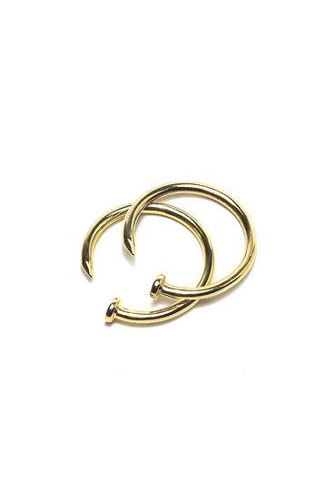NAILHEAD RING - GOLD
