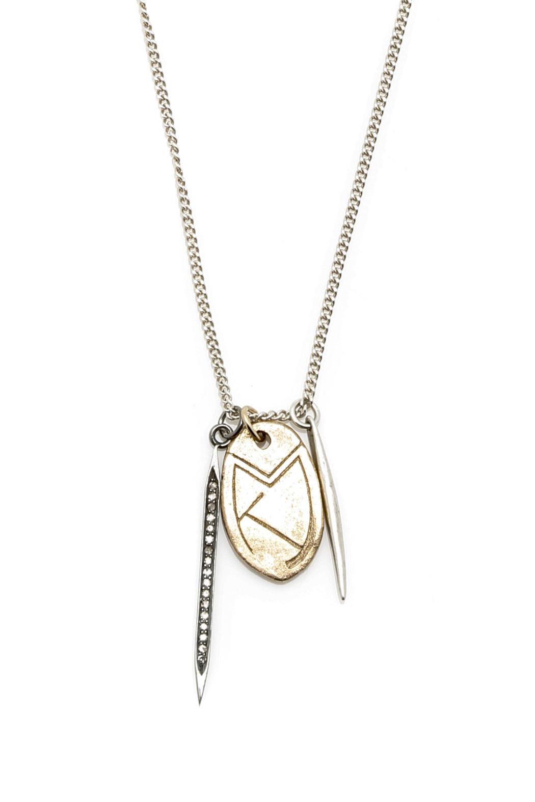 Custom Diamond + Scarab Design