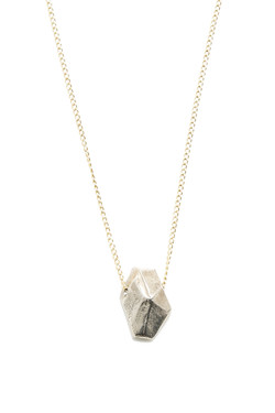 Faceted Silver