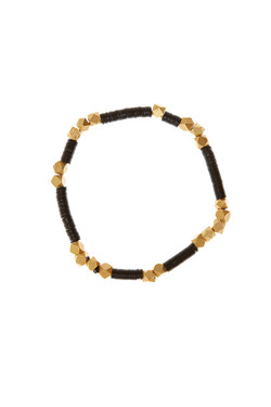 Heshi + Gold Bracelet