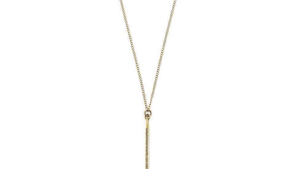 Gold Pave Dagger