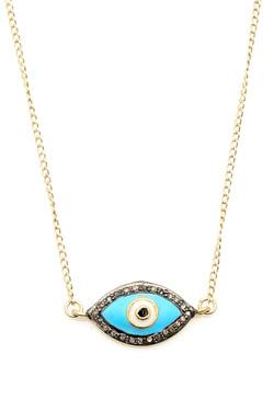 Pave Diamond Evil Eye