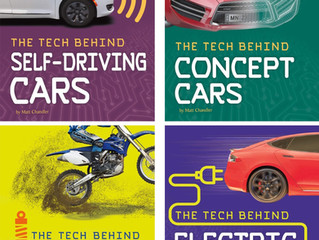 Love cars and technology? Four book series set for August release